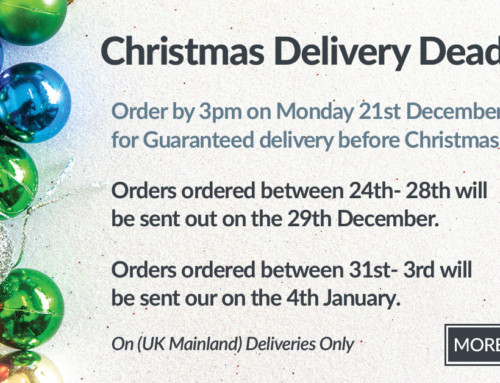 Christmas Delivery Deadline 2020